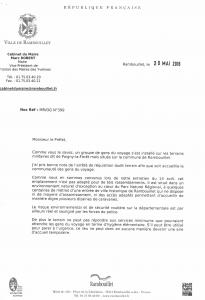 CM - 25 Mai 2016 - Lettre du Maire
