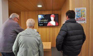 Écran TV à La Lanterne