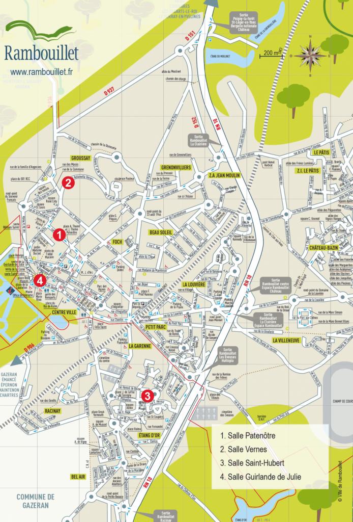 Plan salles municipales