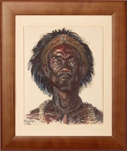 « Le Sorcier de Mbaïki » Gustave Hervigo (1896-1993) - François Delauney