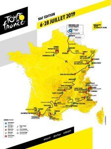 Affiche Tour de France 2019