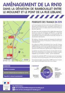DiRIF RN10 Rambouillet Lettre Info