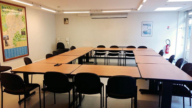 Intérieur salle Guirlande de julie
