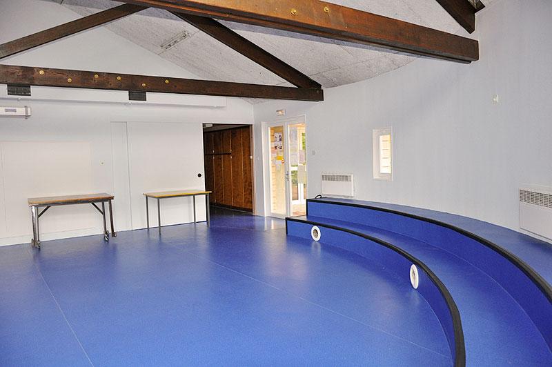Intérieur salle Saint-Hubert
