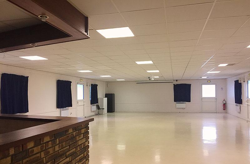 Intérieur salle Vernes