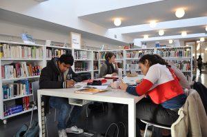 Espace d'étude et de lecture