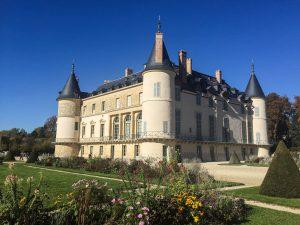Château de Rambouillet en automne