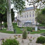 Façade et jardin du palais du Roi de Rome