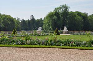 Parc du château printemps