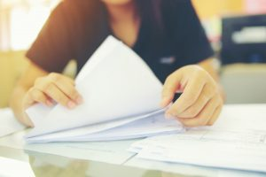 Papiers administatifs