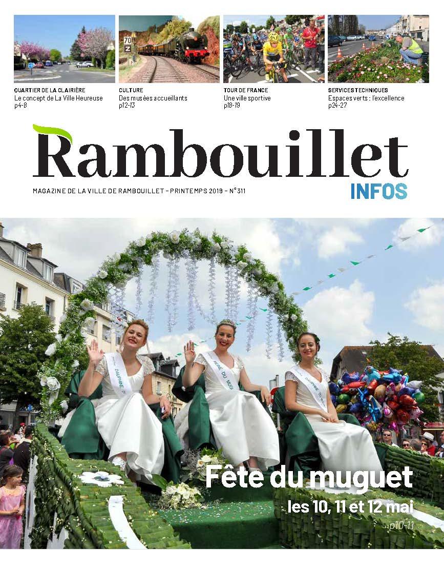Couverture Rambouillet Infos – Printemps