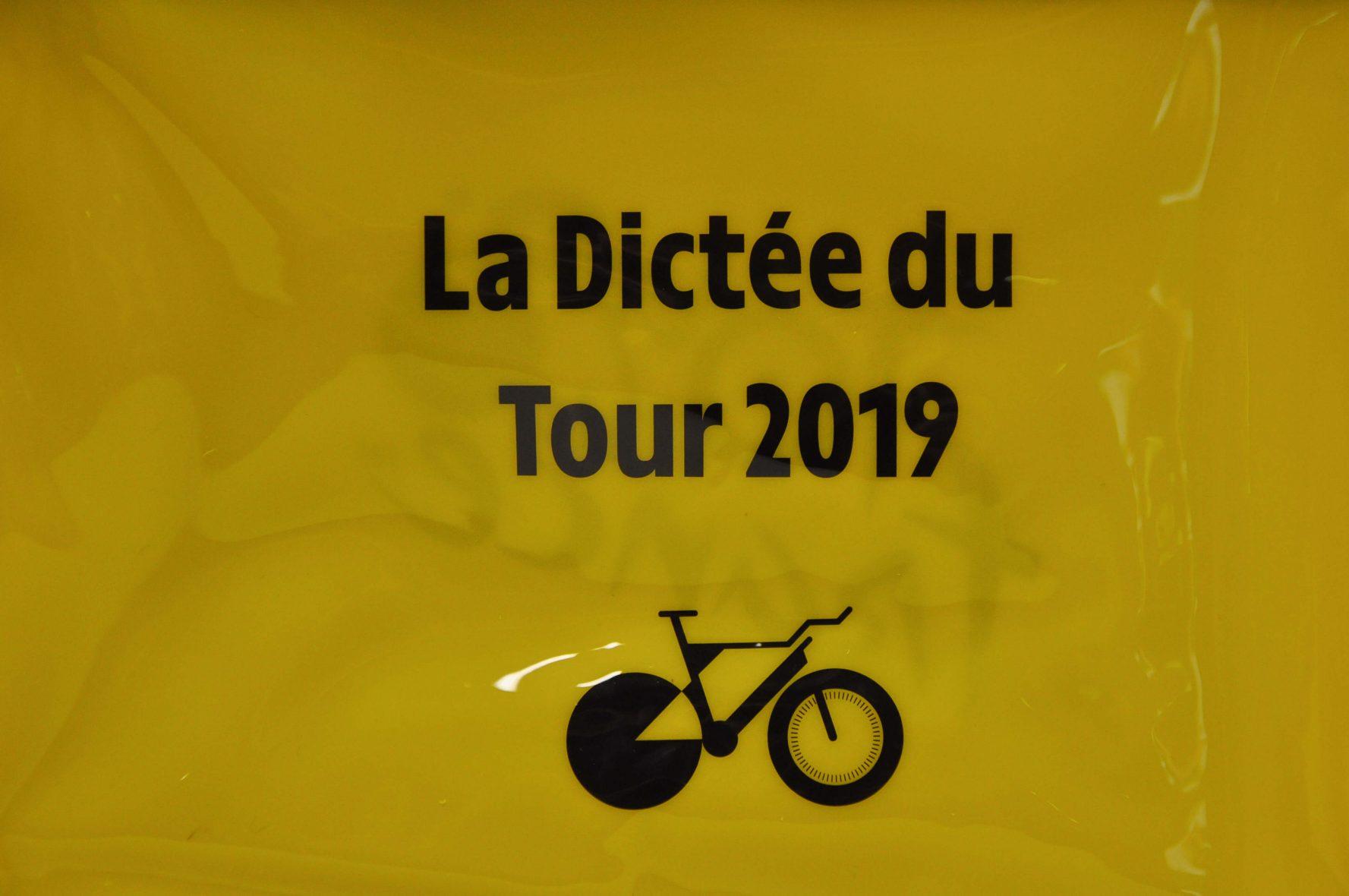 Dictée du tour de France