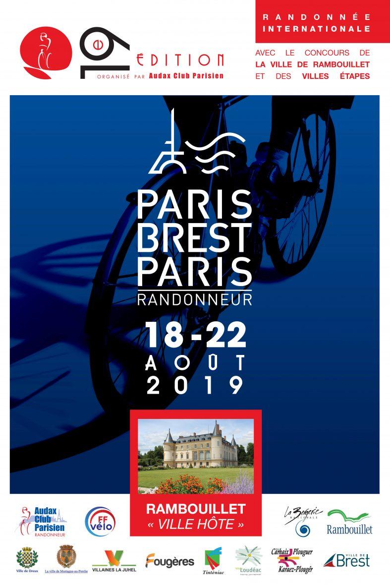 Affiche Paris Brest Paris 2019 min