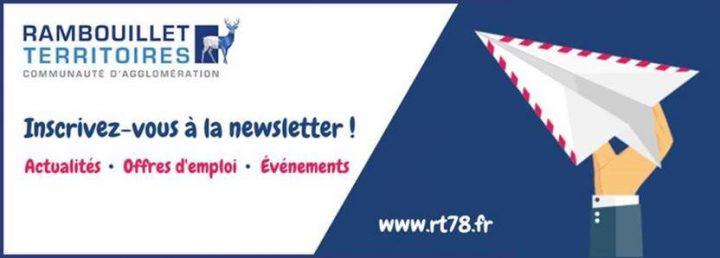 S'inscrire à la newsletter de Rambouillet Territoires