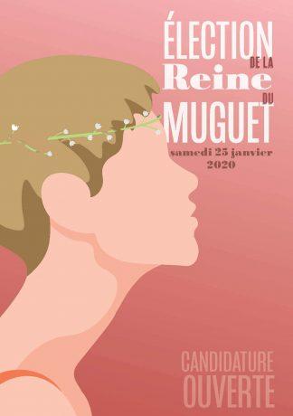 Affiche candidature Reine du muguet 2019
