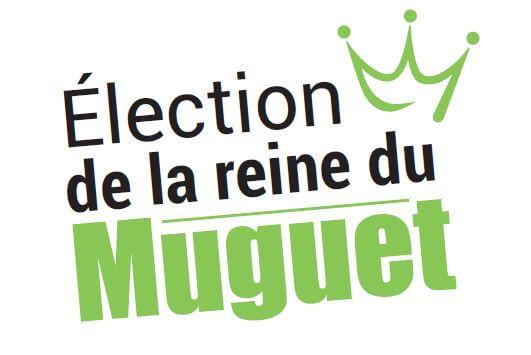 Logo élection reine du muguet