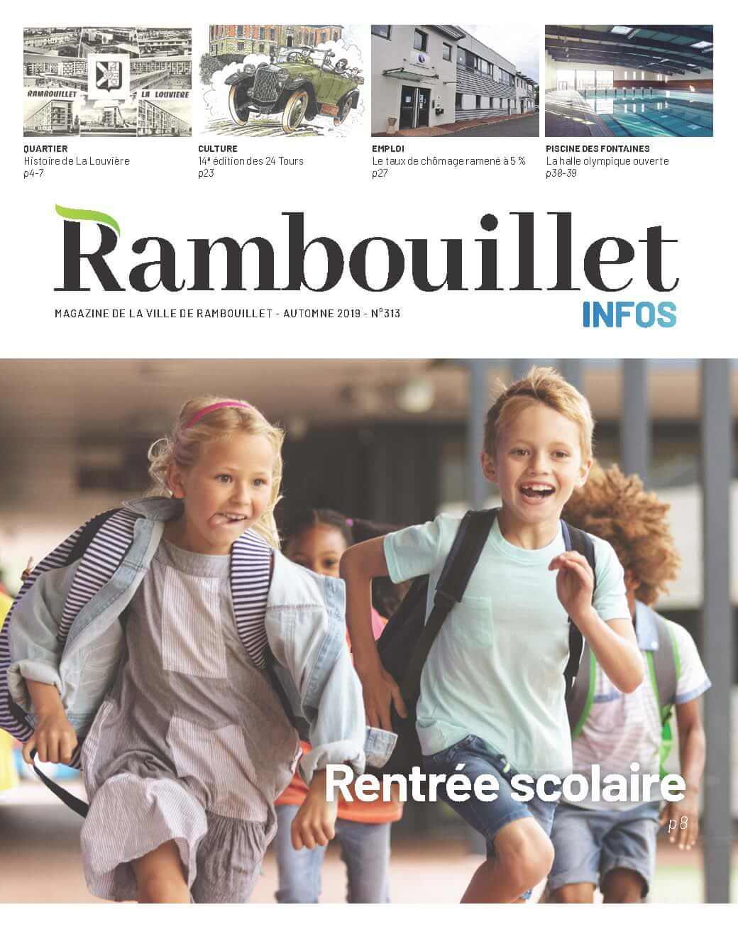 Couverture Rambouillet Infos – Automne 2019