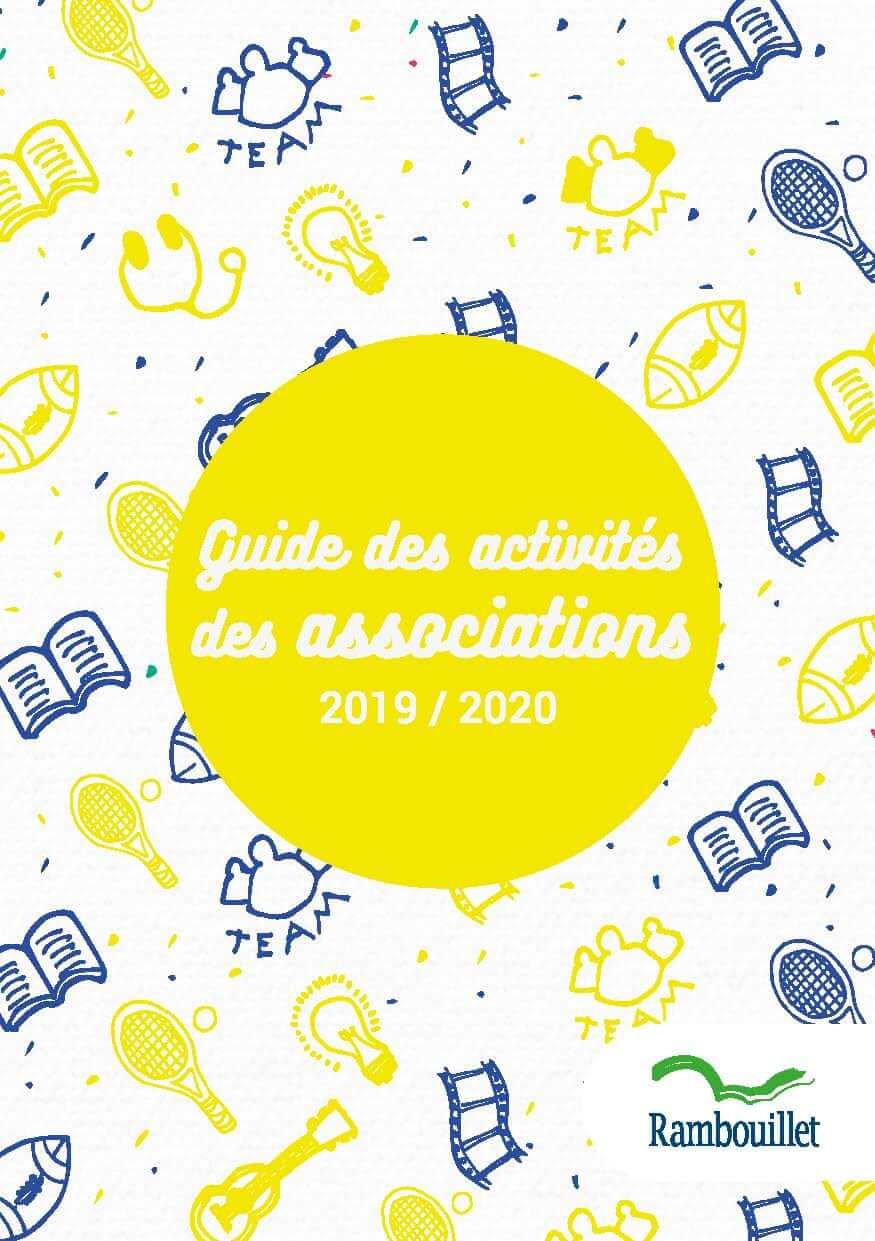 Couverture Guide des activités des associations