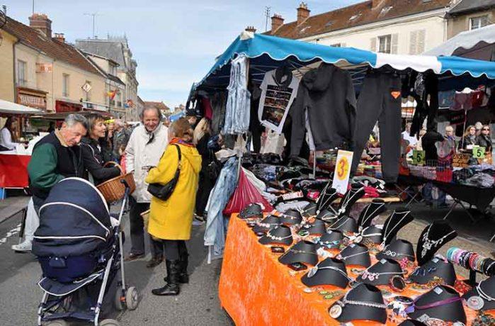 Marché rue du général de gaulle