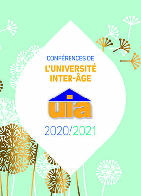 Couverture Programme de l'UIA – Université Inter-Âge