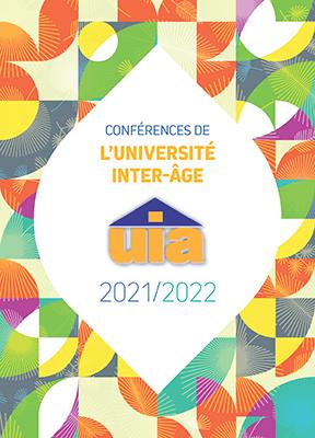 Couverture Programme de l'Université Inter-âge 2021