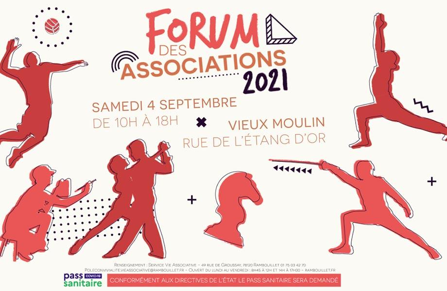 Forum des associations - 4 septembre 2021